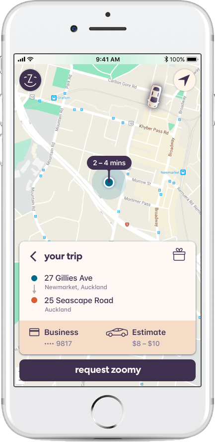 Zoomy - A Better Way to Ride - Home